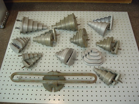 108 Laycock Single Phase heads with holder