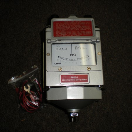 58 Hand Crank Megger 500V