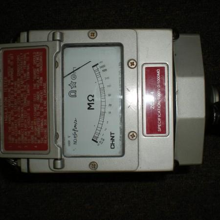 59 Hand Crank Megger 1000V